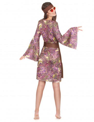 Retro hippie psychedelische outfit voor vrouwen-2