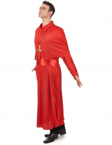 Rood priester kostuum voor volwassenen-1