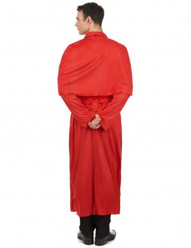 Rood priester kostuum voor volwassenen-2