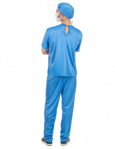 Chirurg kostuum voor heren-2