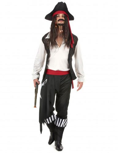 Jack piraten kostuum voor heren
