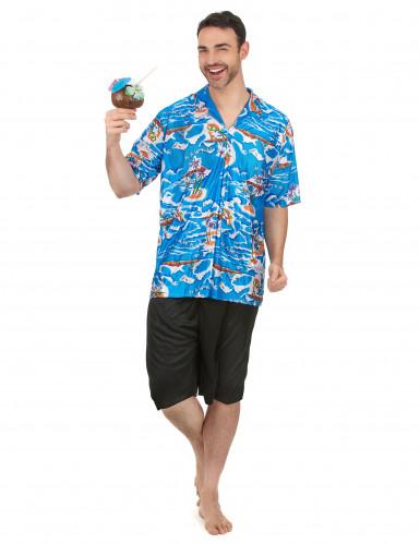 Hawaiiaanse toerist kostuum voor heren