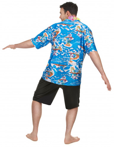 Hawaiiaanse toerist kostuum voor heren-2