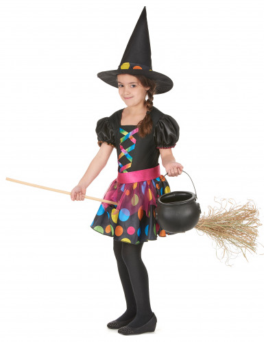 Kleurrijk heksenkostuum voor meisjes-1