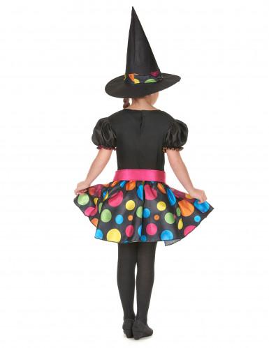 Kleurrijk heksenkostuum voor meisjes-2