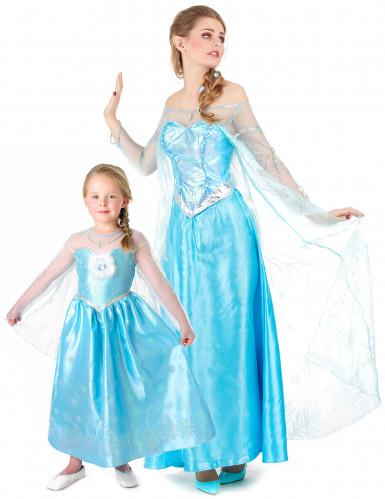 Elsa Frozen™ koppelkostuum voor moeder en dochter