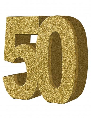 50 jaar tafeldecoratie