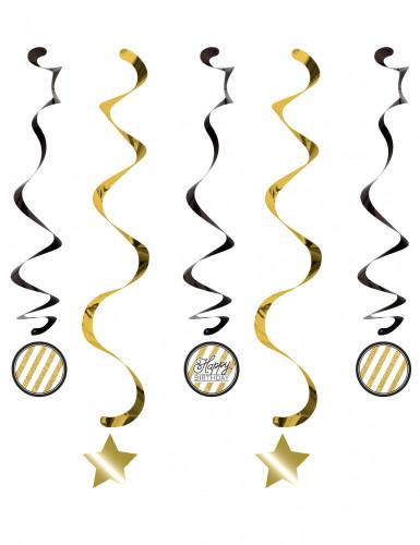 5 Spiraal verjaardag hang versiering