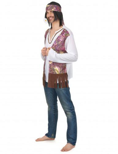 Klassiek hippie vestje voor heren-1