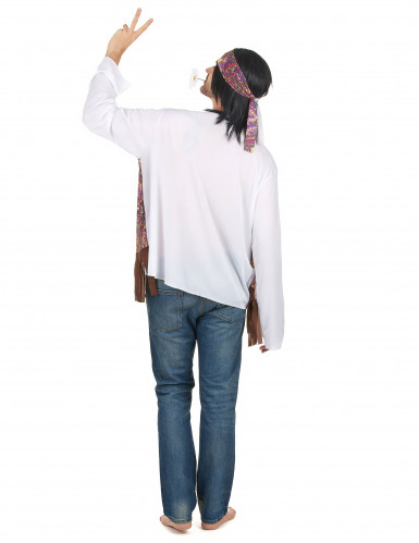 Klassiek hippie vestje voor heren-2
