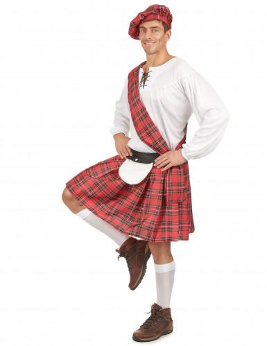 Korte Schotse koppelkostuums voor volwassenen -1