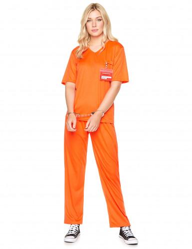 Gevangene kostuum voor volwassenen-1