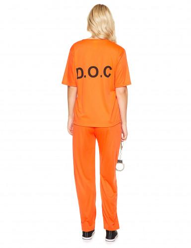 Gevangene kostuum voor volwassenen-2