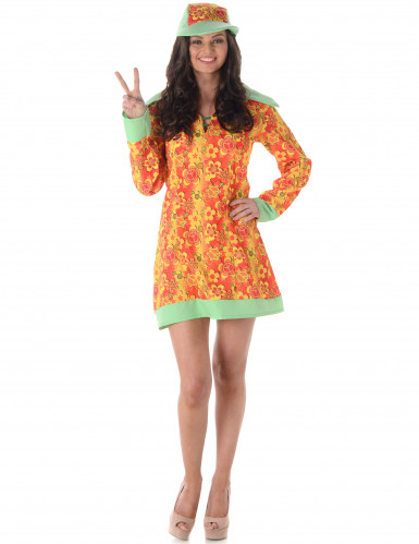 Disco hippie kostuum voor vrouwen