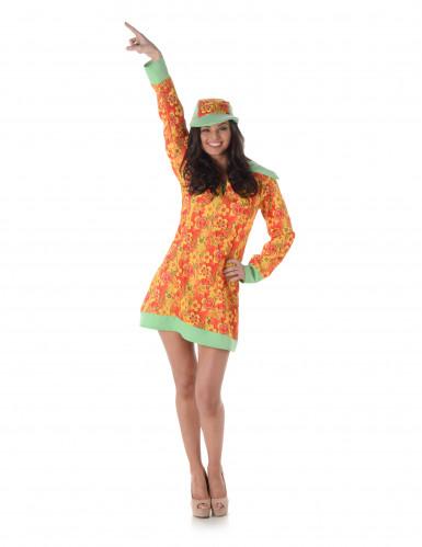 Disco hippie kostuum voor vrouwen-1