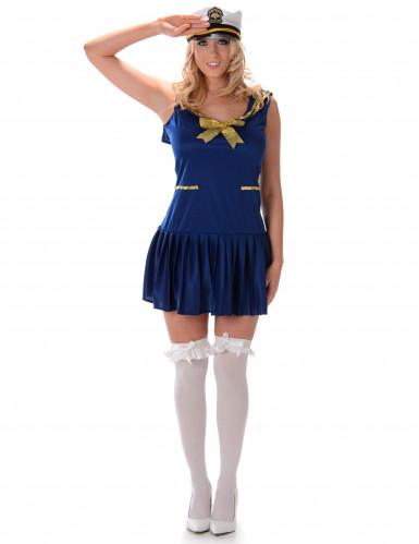 Marine kostuum voor vrouwen
