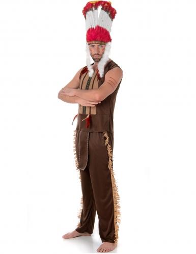 Indianen opperhoofd kostuum voor mannen