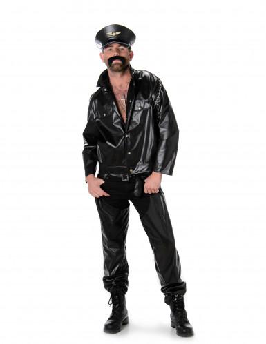 Motorrijder kostuum voor heren