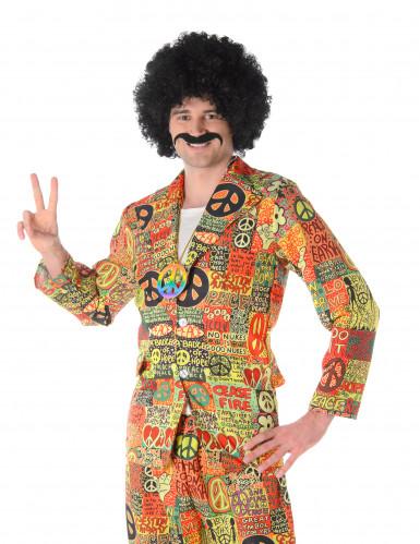 Peace and love hippie kostuum voor mannen-1