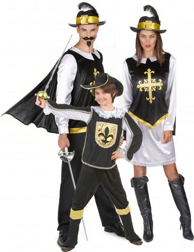Musketier familie kostuums