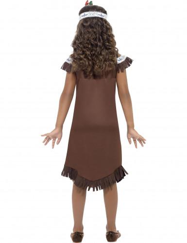 Bruine indianen outfit voor meisjes-1