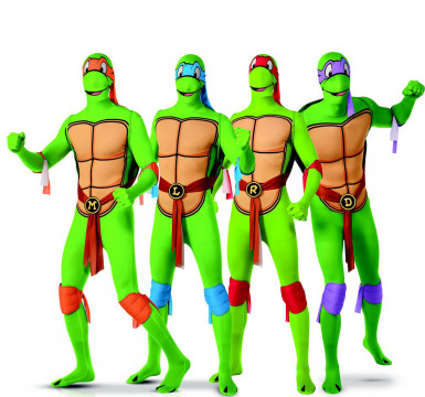 Ninja Turtles™ groepscarnavalskleding voor volwassenen