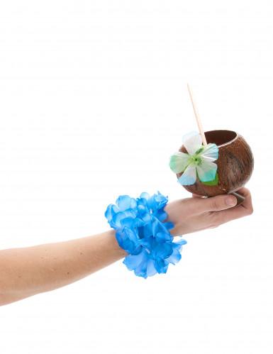 Blauwe Hawaii armband voor volwassenen-1