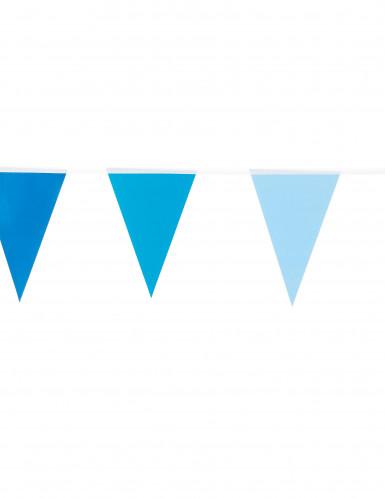 Blauwe kleine vlaggenslinger-1