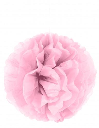 Roze papieren plafonddecoratie