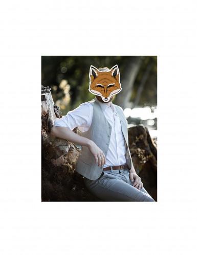 Papieren vossenmasker-1