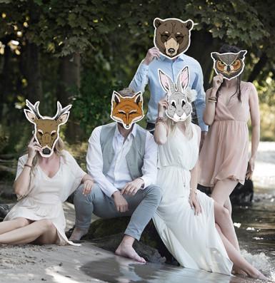 Papieren vossenmasker-2