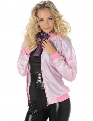Roze 50's jasje voor vrouwen-1