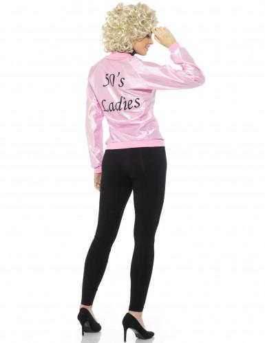 Roze 50's jasje voor vrouwen-2
