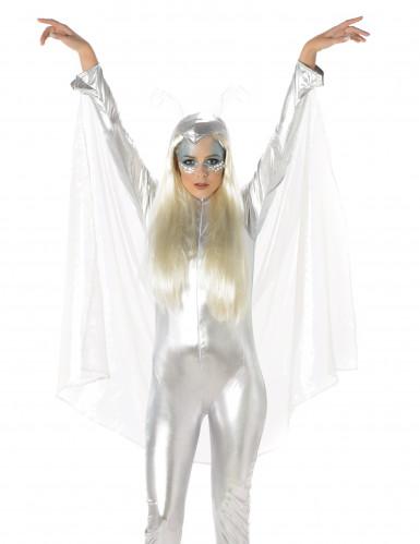 Grijs Alien kostuum voor vrouwen-1