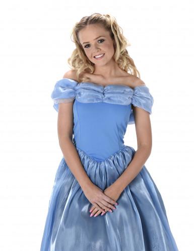 Blauw Assepoester kostuum voor vrouwen-1