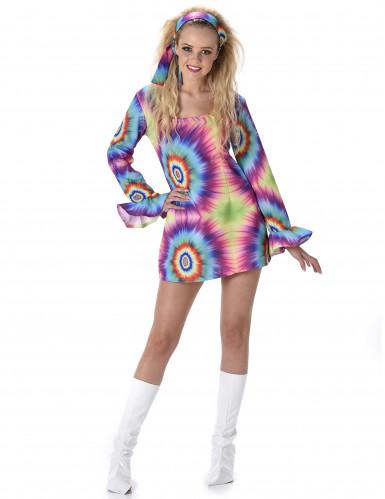 Retro hippie sixties kostuum voor vrouwen