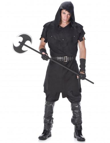 Zwart beul kostuum voor heren