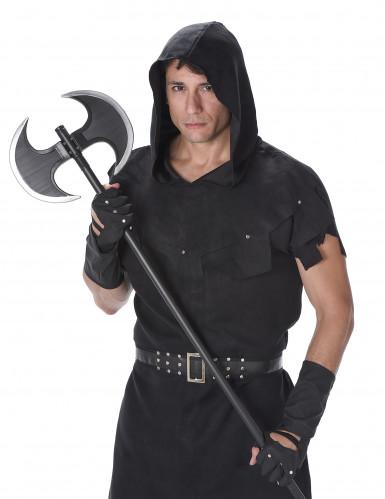 Zwart beul kostuum voor heren-1