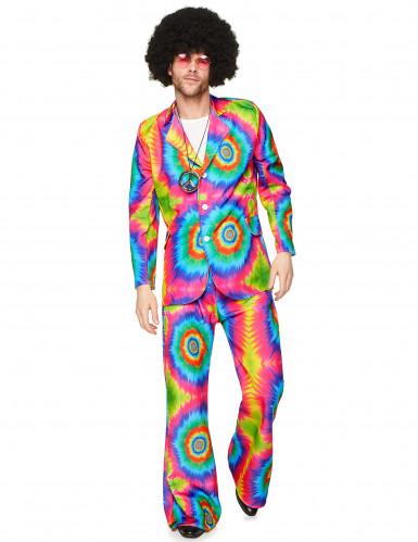 Psychedelisch hippie kostuum voor mannen-1