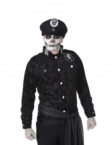 Zombie officier kapitein kostuum voor heren -1