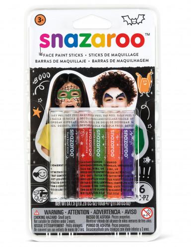 6 Snazaroo™ Halloween schminkstokjes