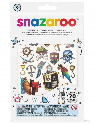 20 tijdelijke Snazaroo™ tatoeages voor jongens