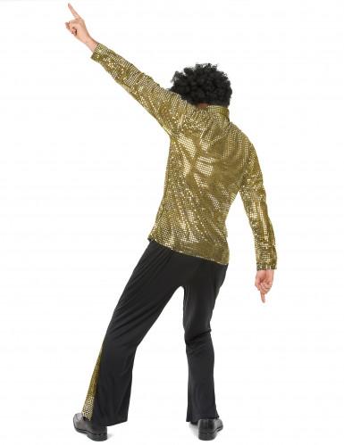 Gouden disco kostuum voor mannen-2