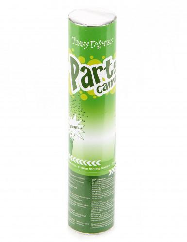 Groen confettikanon van 20 cm-1
