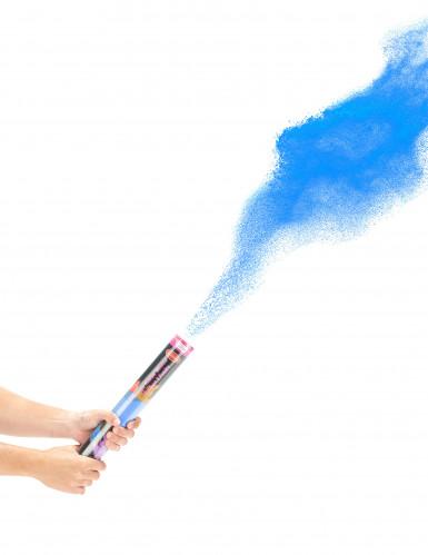 Blauw poederkanon 40 cm