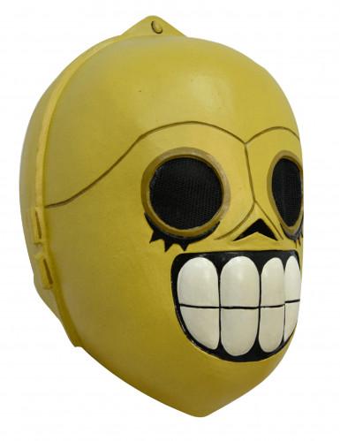 Día de los Muertos robotmasker voor volwassenen