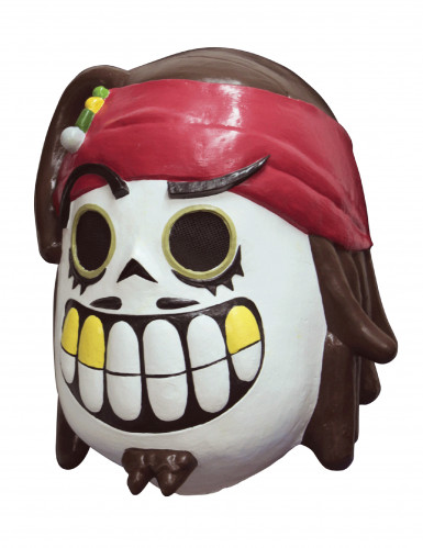 Calaveritas™ Día de los Muertos piratenmasker voor volwassenen