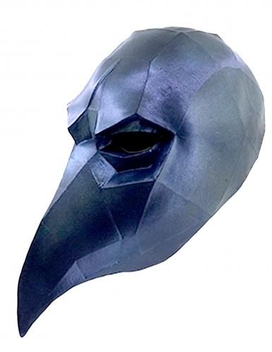 Low Poly ravenmasker