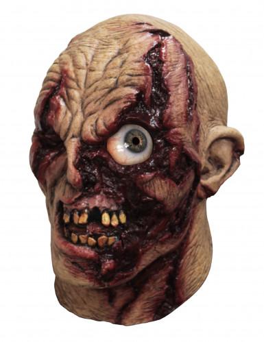 Geanimeerd zombiemasker voor volwassenen