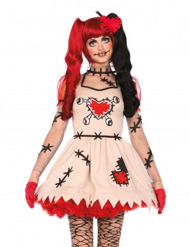 Voodoopop kostuum voor vrouwen-1